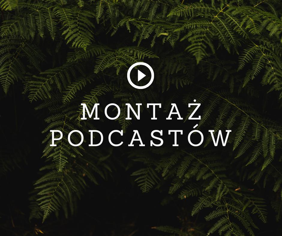 montaż podcastów wrocław